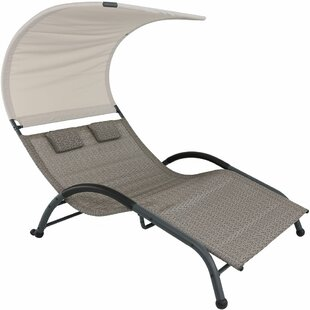 Freeport Park Brenna Double Chaise Lounge