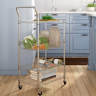 Symple Stuff Bar Cart