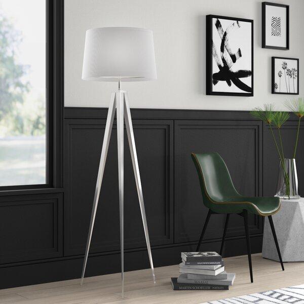 Mercury Row Witzel 63 Tripod Floor Lamp Reviews Wayfair