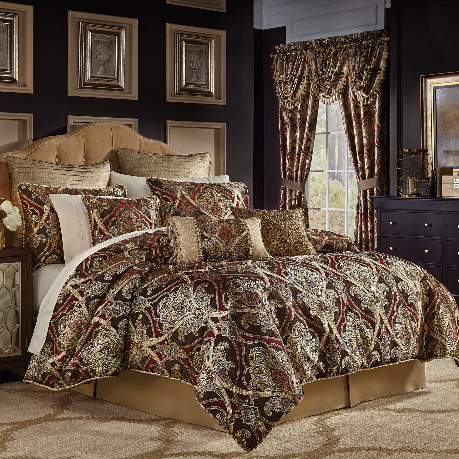 Bradney 4 Piece Comforter Set By Croscill Home Fashions