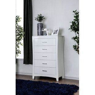 Online Reviews Milian 5 Drawer Chest by Latitude Run