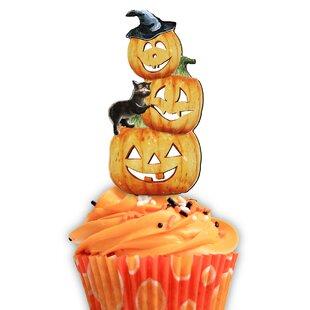 Halloween Pumpkins Cake Topper