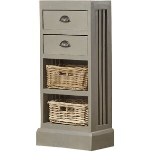 Island Falls 2 Drawer Chest by Breakwater Bay