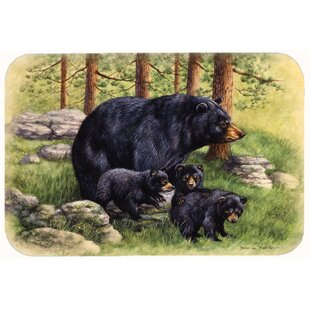 Butterfields Bear by Daphne Baxter Kitchen/Bath Mat