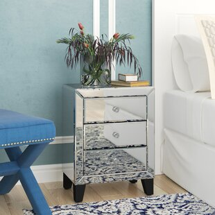 Beglin 3 Drawer Nightstand By House of Hampton
