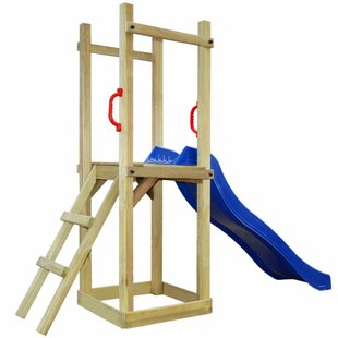 Pinewood Climbing Frame By Freeport Park
