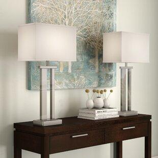 Silver Living Room Table Lamps Wayfair