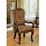 Eliason Upholstered Dining Arm Chair (Set of 2) by Astoria Grand