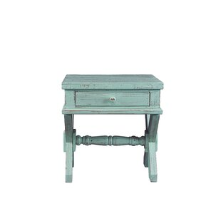August Grove Post End Table with Storage