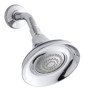 Kohler Forté 1.75 GPM Multifunction Wall-Mount Shower Head with Masterclean Spray Nozzle