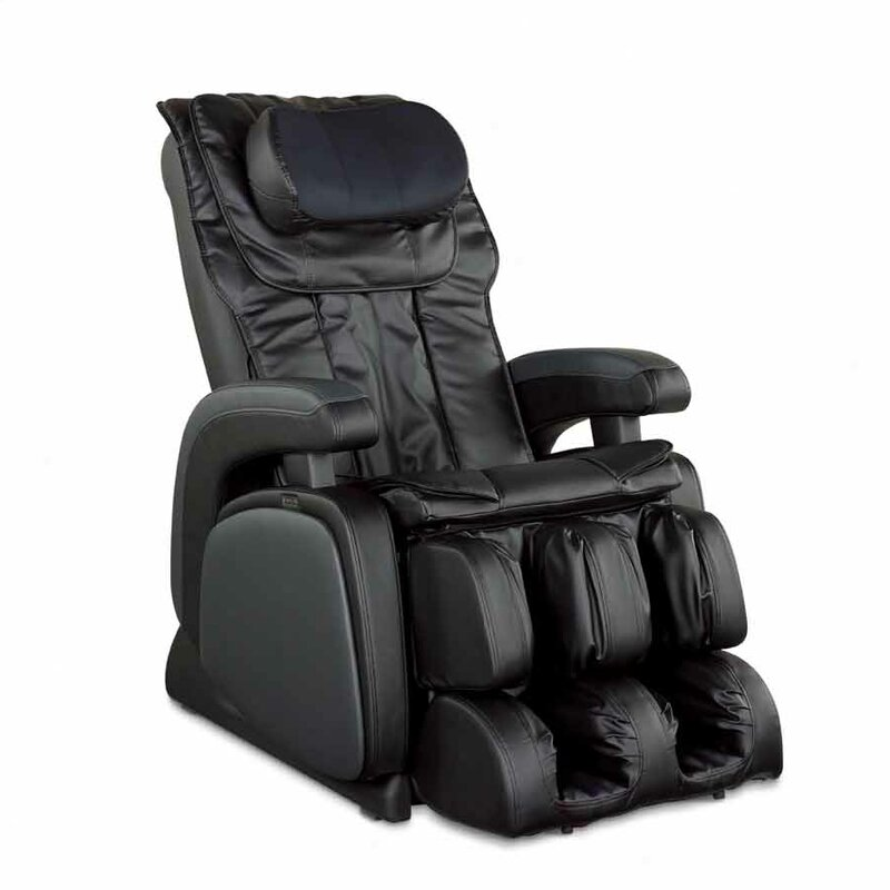 16028 Zero Gravity Heated Reclining Massage Chair  sc 1 st  Wayfair : zero recliner - islam-shia.org