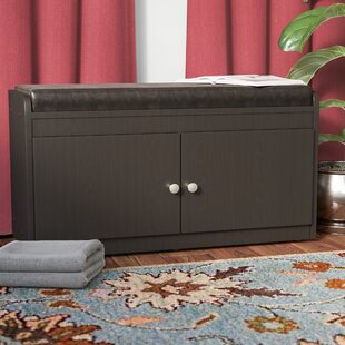 Lucrezia Modern Wood Storage Bench by Andover Mills