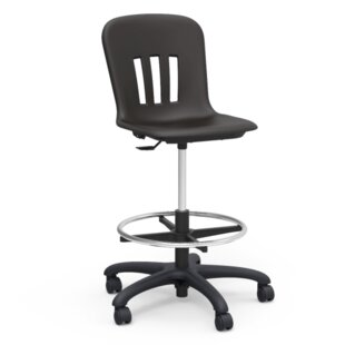 Metaphor Height Adjustable Lab Stool with Casters