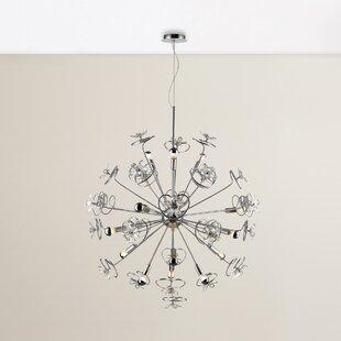 House of Hampton Layla 15-Light Globe Chandelier