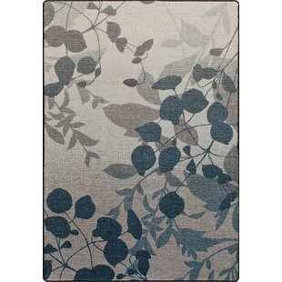 Mix and Mingle Indigo Nature's Silhouette Rug by Milliken