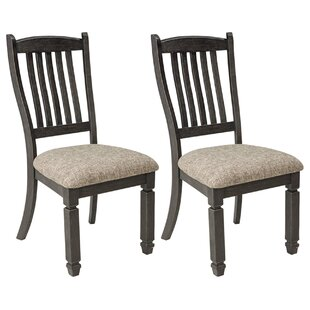 Ventanas Upholstered Dining Chair (Set of 2) Canora Grey