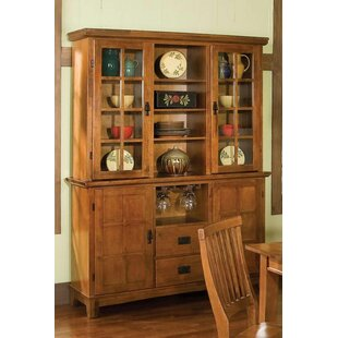 Three Posts Ferryhill Wood China Cabinet