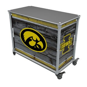 Hawkeyes Tailgate Station Bar Cart by Rainmaker Imports