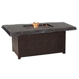 Leona Classical Aluminum Propane Fire Pit..