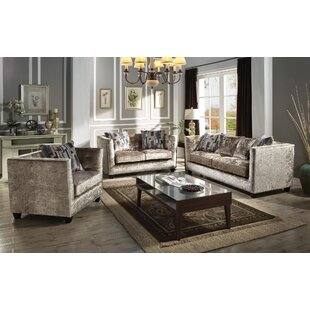 Price comparison Fulbright Configurable Living Room Set by Everly Quinn Reviews (2019) & Buyer's Guide