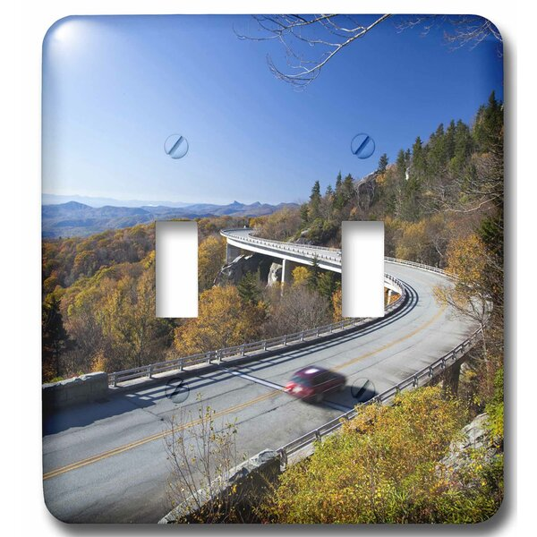 3drose Linn Cove Viaduct Ridge Parkway North Carolina 2 Gang Toggle Light Switch Wall Plate Wayfair