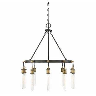 Gracie Oaks Wuest 10-Light LED Chandelier