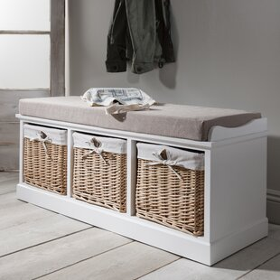 Hudson Oaks Upholstered Storage Bench By Beachcrest Home