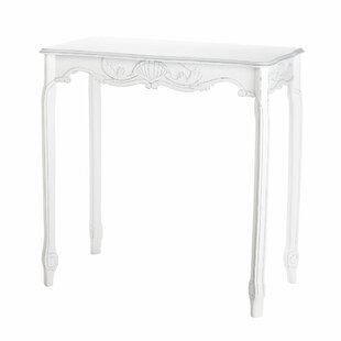 Scalloped End Table
