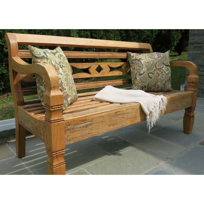 Excellent Leblon Wood Garden Bench Short Links Chair Design For Home Short Linksinfo