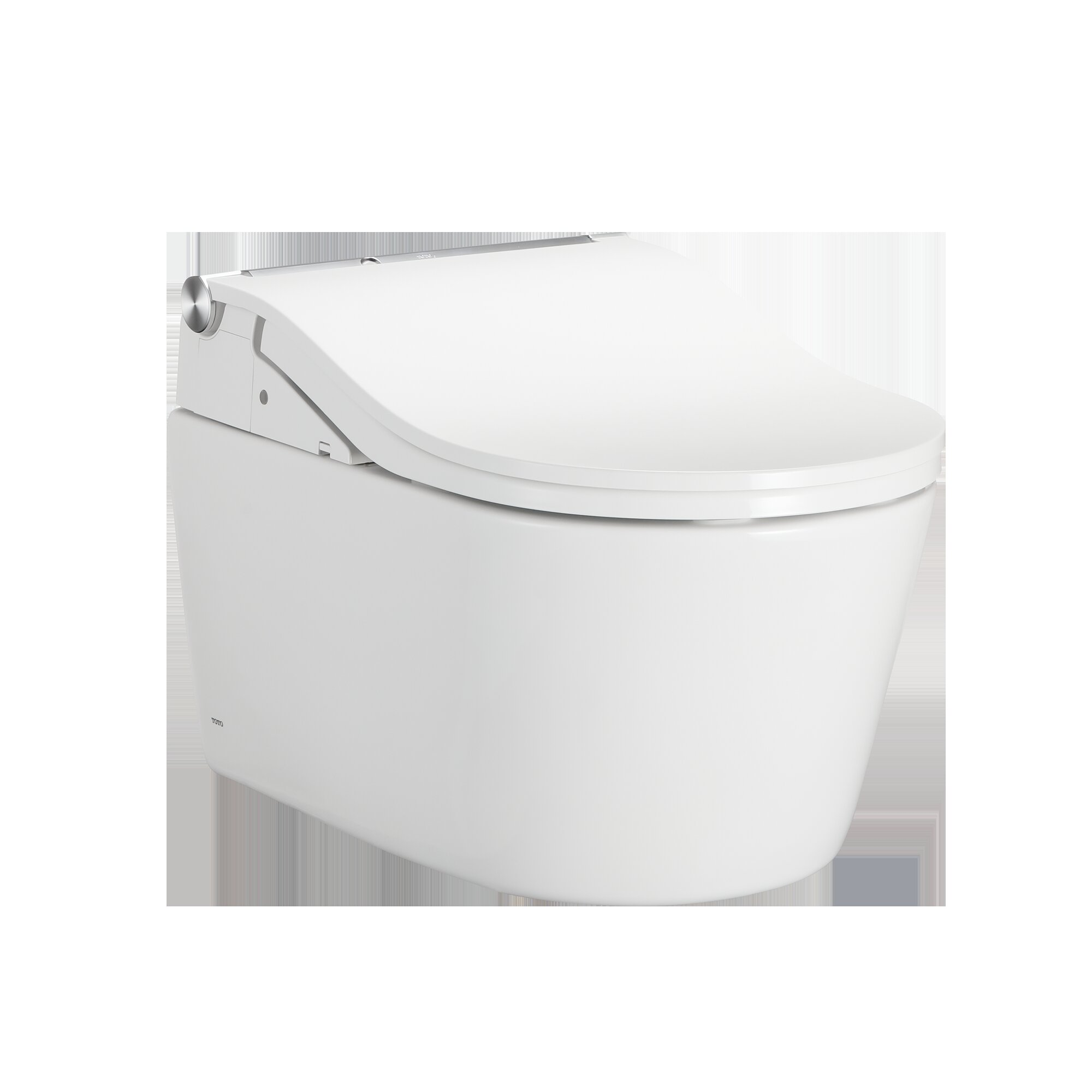 Toto Dual Flush Elongated Wall Mounted With Tornado Flush Seat Included Wayfair