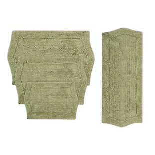 Shera 4 Piece Bath Rug Set