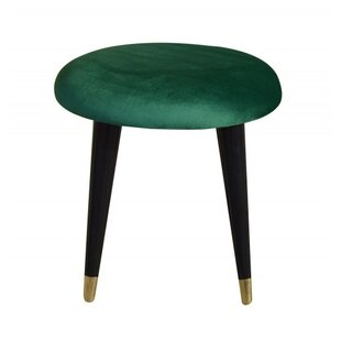 Emi Velvet Dressing Table Stool By MONKEY MACHINE