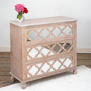 Diogene 3 Drawer Chest By Bloomsbury Market