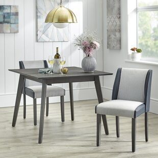 Beckley 3 Piece Solid Wood Dining Set by George Oliver