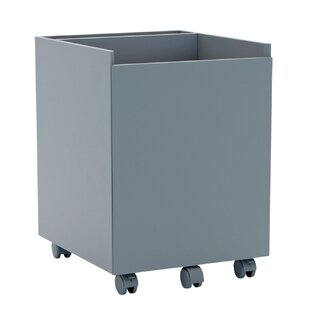 Offex Niche 1-Drawer Mobile Vertical Filing Cabinet
