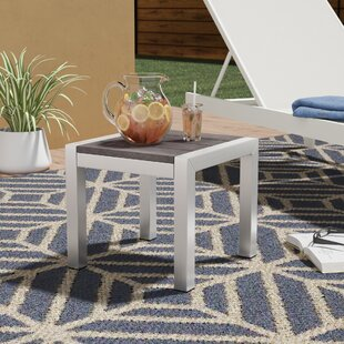 Coline Outdoor Metal Patio Side Table