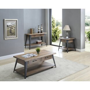 Williston Forge Grabill 3 Piece Coffee Table Set