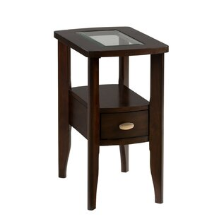 Red Barrel Studio Holzman Wooden End Table