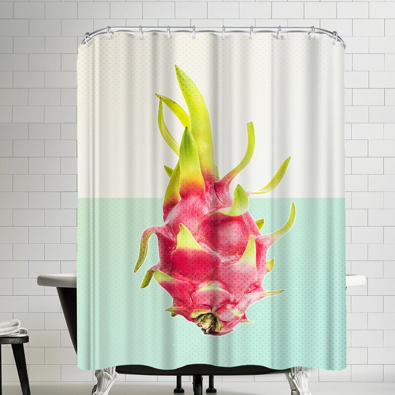 Ikonolexi Passion Fruit Shower Curtain