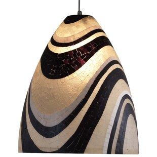 Oggetti Mosaic Ben 1-Light Cone Pendant