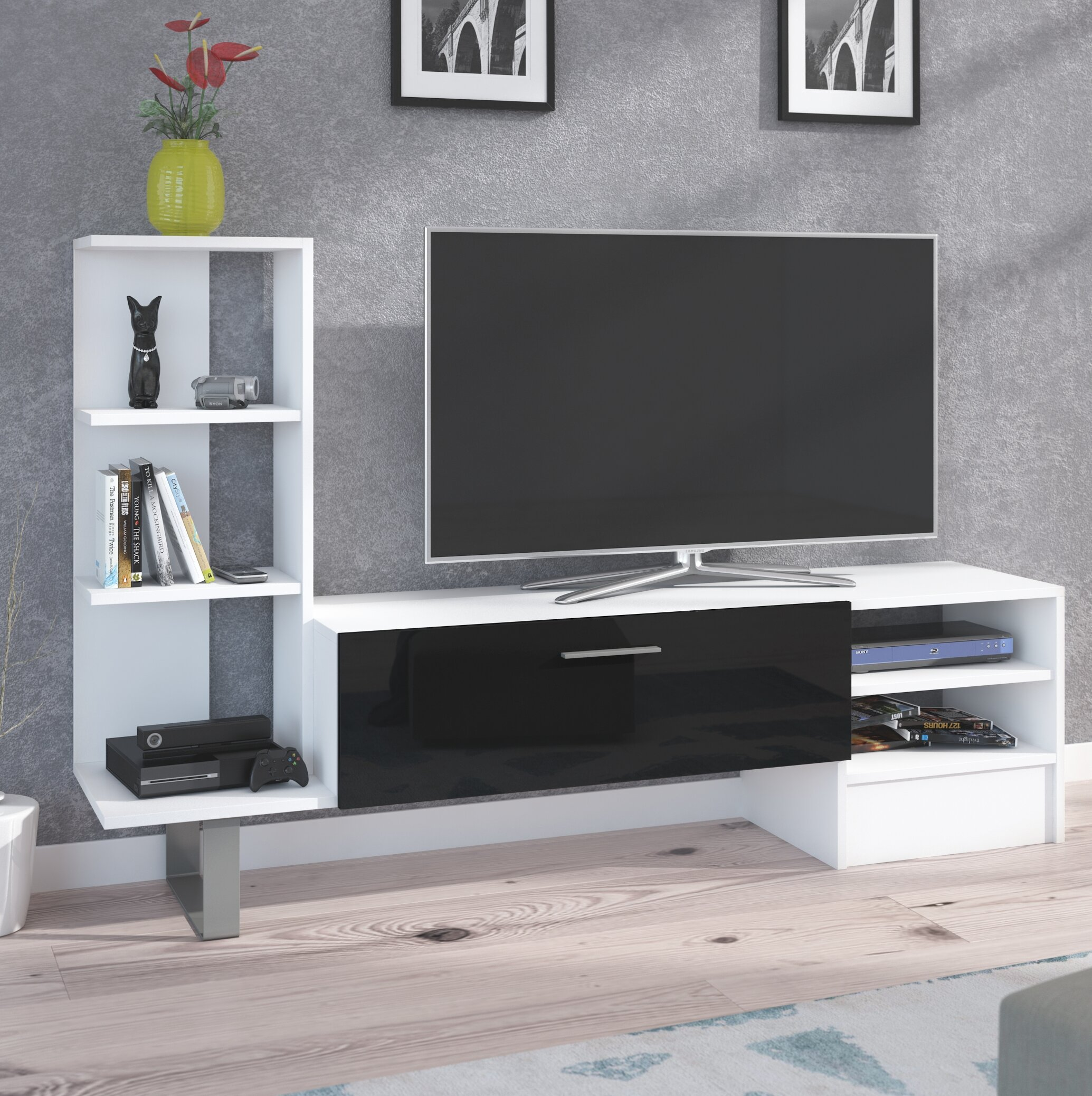 Orren Ellis Broadview Entertainment Center for TVs up to 55