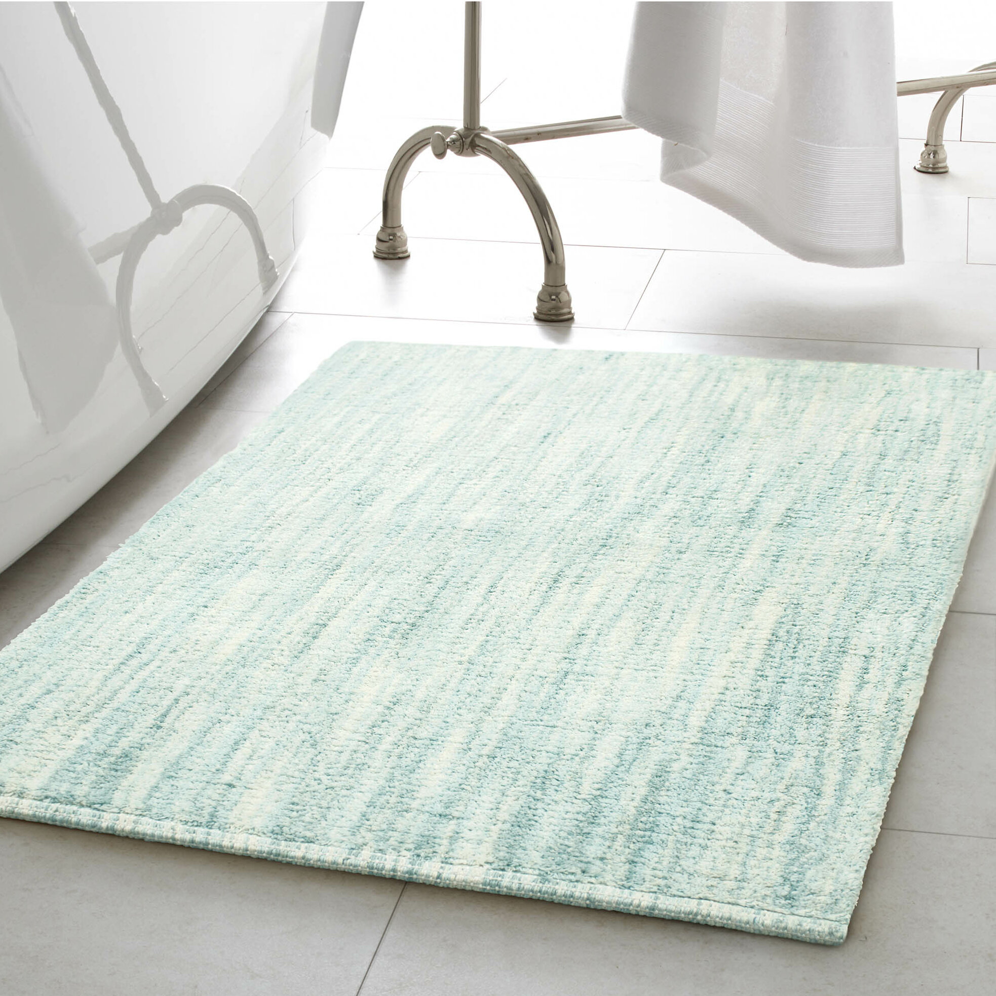 T Austin Design Boell 2 Piece Cotton Slub Bath Rug Set Reviews Wayfair