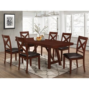 Banstead Solid Wood Trestle Style 7 Piece..
