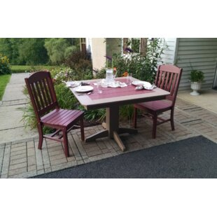 Nettie 3 Piece Dining Set