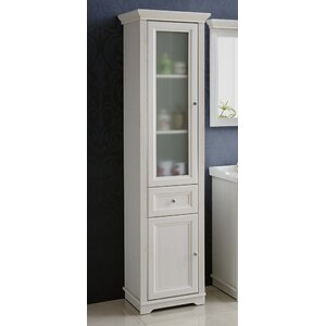 palace andersen 43 x 185cm tall bathroom cabinet
