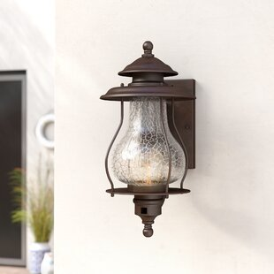 Kentwood 1-Light Outdoor Sconce by Beachcrest Home