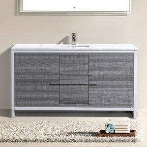 Bathroom Vanity Drawers 3 drawer bathroom vanities you'll love | wayfair