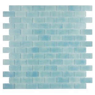 Quartz 0 75 X 1 63 Gl Mosaic Tile In Light Blue
