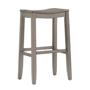 Hughesville Saddle Bar Stool by Laurel Foundry Modern Farmhouse