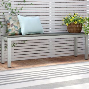 Arietta Aluminum Picnic Bench by Zipcode Design